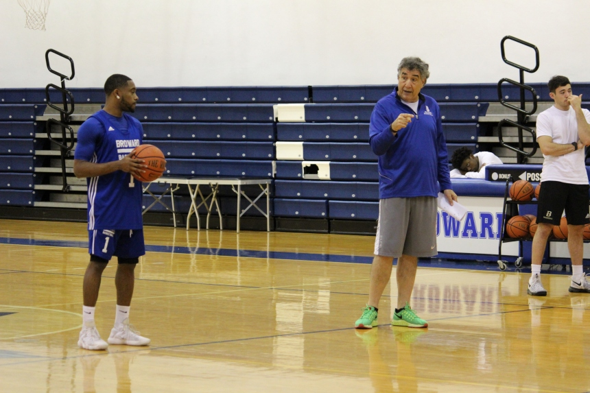 Men's basketball coach, Bob Starkman