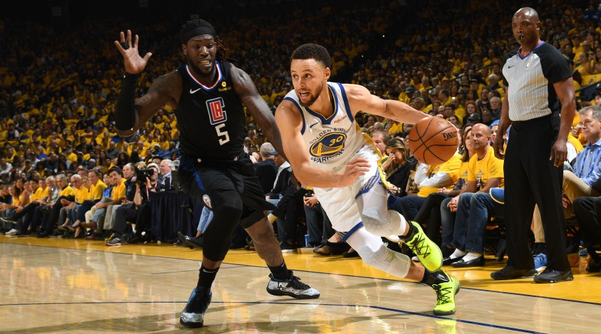 LA Clippers v Golden State Warriors - Game One